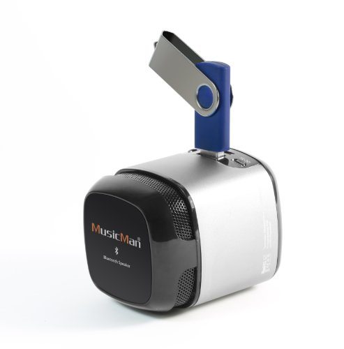 Preisvergleich Produktbild Technaxx Musicman Makro Bluetooth Soundstation NFC-X6,  silber