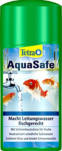 Tetra Pond AquaSafe (Qualität-Teichwasseraufbereiter für fischgerechtes und naturnahes Teichwasser), 500 ml Flasche