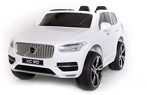 Volvo Xc90 Elektrisches Auto Für Kinder Weiss Lackiert 24ghz