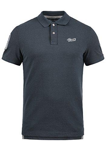 Blend Ludger Herren Poloshirt Polohemd T-Shirt Shirt mit Polokragen, Größe:XL, Farbe:Dark Navy Blue (74645) (Dark Navy Polo)