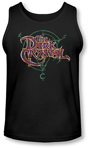 Dark Crystal - Herren-Symbol-Logo Tank-Top Black