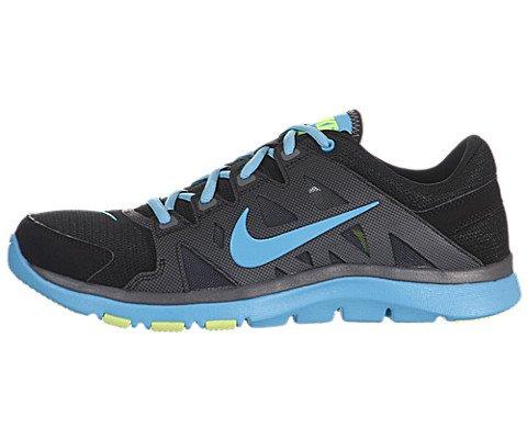 d6abf9481ea0 Nike 599558-400 Men Grey And Yellow Flex Supreme Tr 2 Sports Shoes ...