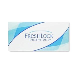 Freshlook Dimension 6er Box PazifikBlau (Dioptrien: 3.75 / Radius: 8.60 / Durchmesser: 14.50 / Farbe: Pazifik-Blau)