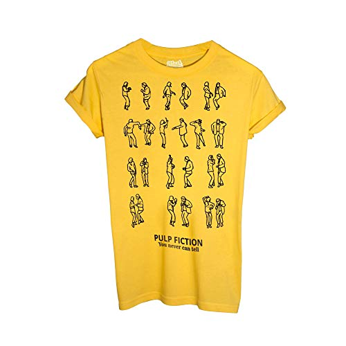 0283b708112e7 T-Shirt Pulp Fiction Dance You Never Can Tell - Film by Mush Dress Your