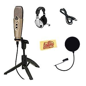 CAD Audio U37 Avec fil Argent microphone - microphones (Avec fil, Argent, USB)