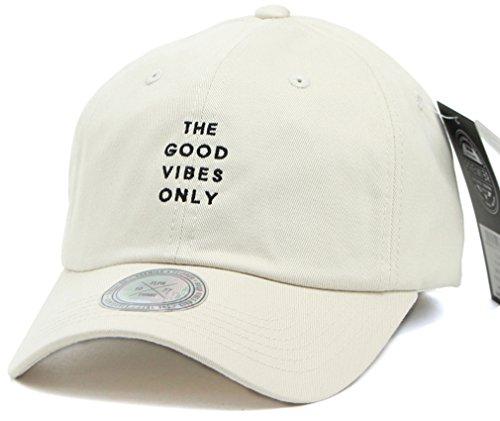 Sujii Good Vibes Only Baseball Cap Casquette de Baseball Trucker Hat Casquette de Camionneur Chapeau extérieur