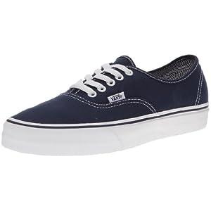 Vans AUTHENTIC Unisex-Erwachsene Sneakers, Blau ((AngStrpLng)DrB), 43