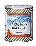 Epifanes Black Boottom schwarz 1 Liter Unterwasserfarbe, E5-36A Schiffsfarbe
