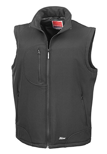 Result - Bodywarmer softshell Result Black