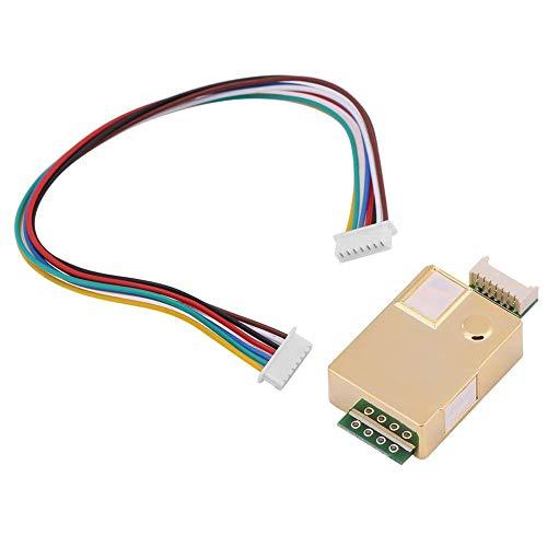 Walfront Arduino MH-Z19 Infrarot-CO2-Sensor, Gleichstrom 3,6 V-5,5 V, für Innenbereich, Luftqualität-Monitor, CO2-Detektor-Sensor -