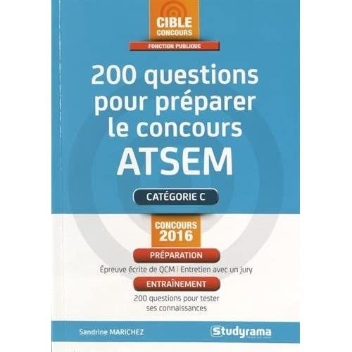 200 questions pour préparer le concours ATSEM