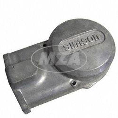 Lichtmaschinendeckel - Alu-natur - Simson Logo - Originalqualität - S51, S53, S70, S83, SR50, SR80, KR51/2