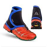 Lofenlli Couvre-Chaussures de Protection Anti-Sable protecteurs de Gaines réfléchissantes Hautes de Sentier Unisexe en Plein air pour Courir Jogging Marathon randonnée