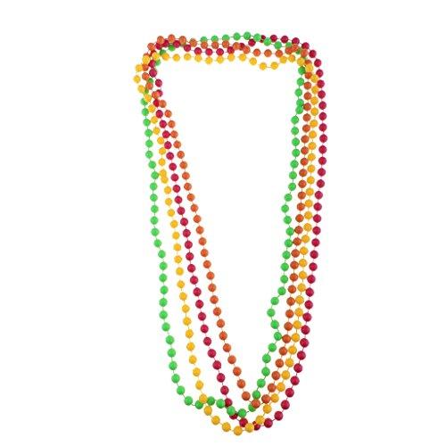 l Neon Perlen Halskette/Perlenarmkette Party und Cosplay Zubehör - 41,5 cm ()
