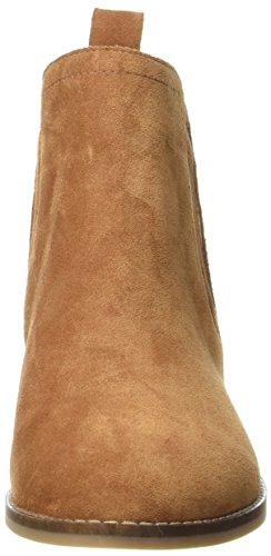 Buffalo Damen 416-7396 Cow Suede Stiefel Braun (Tan 01)