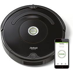 1 de iRobot Roomba 671 - Robot aspirador suelos duros y alfombras, tecnología Dirt Detect, limpieza en 3 fases, wifi, programable por app, compatible con ...