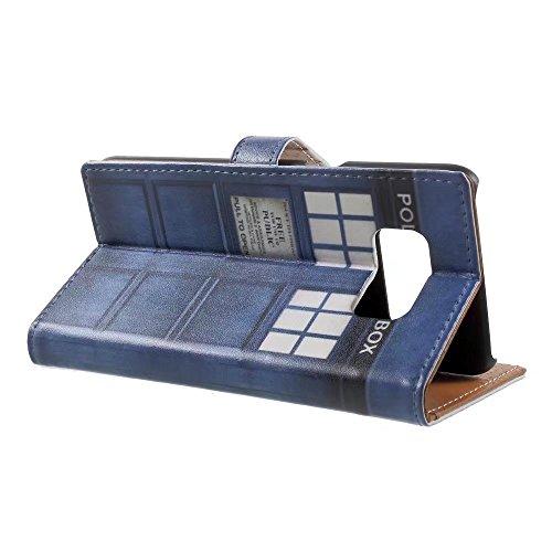 Custodia iPhone 7,TXLING Cover iPhone 7/iPhone 8 4.7 Flip Case,Elegante borsa Custodia in Pelle Protettiva Portafoglio Case Cover per Apple iPhone 7 4.7 / con Supporto di Stand / Carte Slot / Chiusura 3 Porta blu