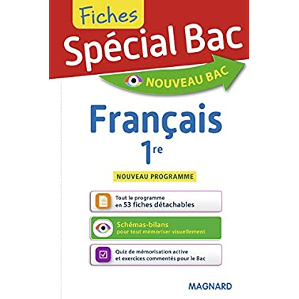 Fiches Français 1re