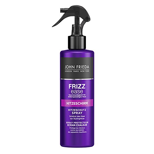 John Frieda Frizz Ease Hitzeschirm Hitzeschutz Spray, 2er Pack (2 x 200 ml)