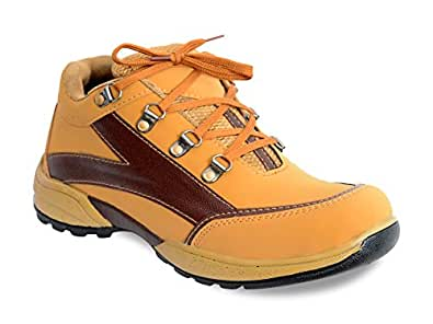 FEETWAY TAN CASUAL OUTDOOR SHOES PF-5 (6)