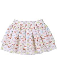 ShopperTree Butterfly Print Skirt for Girl's