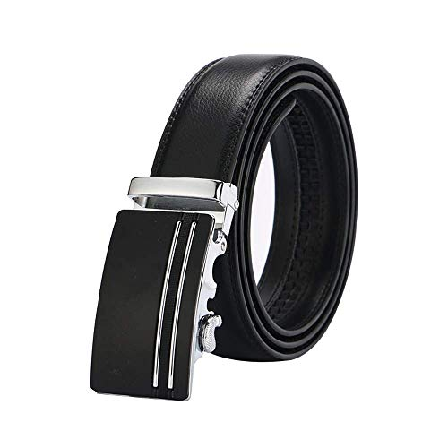 aoliaoyudonggha Mens Leather Strap Male Automatic Buckle Authentic Girdle Trend Belts Ceinture