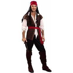 Disfraz de pirata del caribe para hombre.