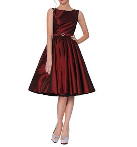 Leader of the Beauty - Robe - Femme Rouge - Bordeaux