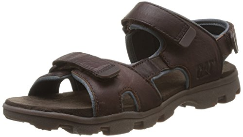 Caterpillar Pathfinder, Sandales Bout Ouvert garçon, Marron (Dark Brown), 29 EU (UK Child 11.5 Enfant UK)
