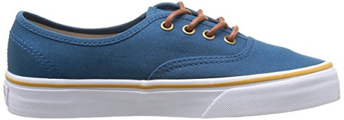 Vans U Authentic, Baskets mode mixte adulte Bleu (Moroccan Blue/Tortoise Shell)