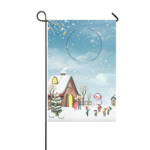 Confederate Flag T-shirt (nuohaoshangmao Christmas Garden Flag and A Happy New Year Decoration Double Sided 12.5