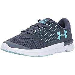 Under Armour UA W Micro G Speed Swift 2, Zapatillas de Entrenamiento para Mujer, Gris (Apollo Gray), 39 EU