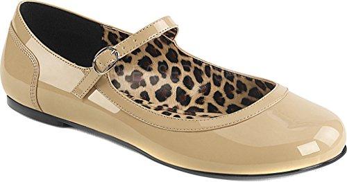 Pleaser  SKY-309, Chaussures à talons avec plateau femmes - Lack schwarz - chrome
