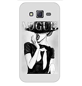 Happoz Samsung Galaxy J2 (J210) (2016) Cases Back Cover Mobile Pouches Shell Hard Plastic Graphic Armour Premium Printed Designer Cartoon Girl 3D Funky Fancy Slim Graffiti Imported Cute Colurful Stylish Boys D162