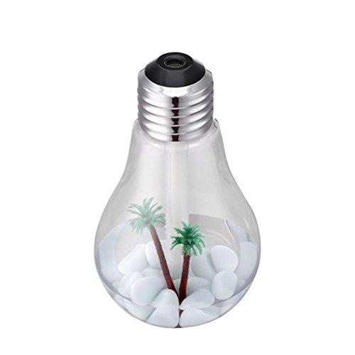 Kreative Lampe Birne Form Luftbefeuchter HARRYSTORE Aroma