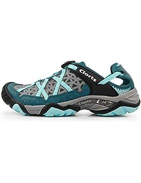 Mens / Ladies maglia le scarpe da trekking scarpe da passeggio moda estiva leggero e traspirante , blue , 37