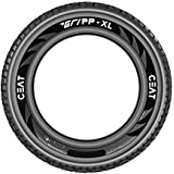 Ceat Gripp XL 120/90-17 64S Tube Type Bike Tyre, Rear (Home Delivery)
