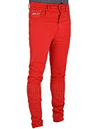 Amazon.co.uk: Red - Jeans / Men: Clothing