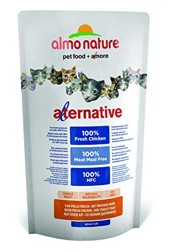 Almo Nature Cat Poulet Riz Aliment Chat Sec Premium Sac, Multicolore, Unique