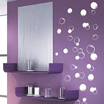 58 Bubbles Bathroom Window Shower Tile Wall Stickers, Wall Decals, Car  Decals