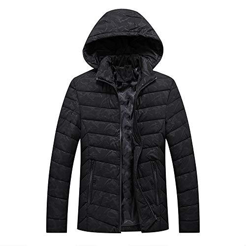 Kanpola Herren Winterjacke Parka Parkajacke Kapuzenjacke Wärmejacke Wintermantel Coat Jacke Übergangsjacke Parka Jacken