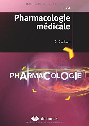 Pharmacologie medicale