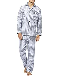 Wolsey - Ensemble de pyjama - Pyjama - Manches Longues - Homme Bleu Bleu