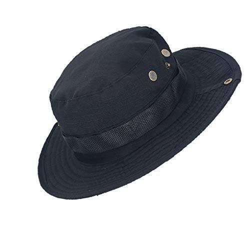 Provide The Best Männer Frauen Schlapphut Einzigartige Polyester-Baumwolle Angeln Außen Cap Außen Wide Brim Kopfbedeckung