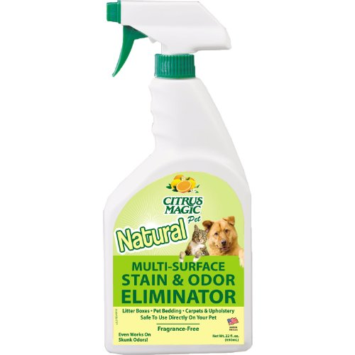 Citrus Magic Pet Odor Eliminator 22 Ounce Spray