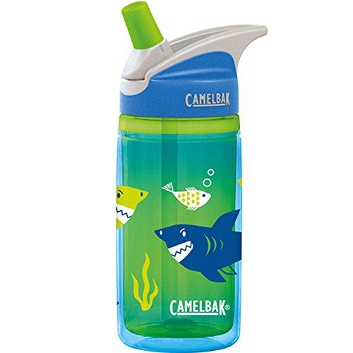 Camelbak 53856 Eddy Kids Insulated 0.4L Blue Sharks Borraccia