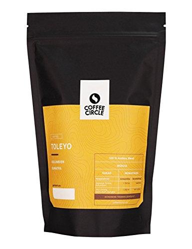 Coffee Circle | Premium Kaffee Toleyo | 350g gemahlen | Würziger Filterkaffee mit wenig Säure |...