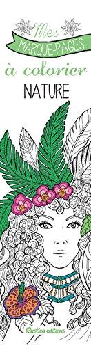 Mes marque-pages à colorier : nature
