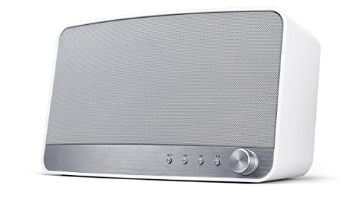 Pioneer MRX-3-W Wireless Multiroom Lautsprecher (Streaming, WLAN, Bluetooth, Musik Apps mit FlareConnect, DTS Play-Fi, Internetradio, Pioneer Remote-App) Weiß -