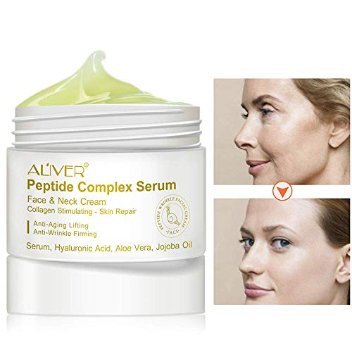 Peptide Complex Serum-Best Anti-Aging Face Serum Reduces Wrinkles and Boosts Collagen - Heals and Repairs Skin while Improving Tone and Texture¡ -